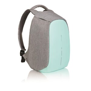 XD Design Bobby Compact anti-theft backpack, mint green (Рюкзак Бобби компакт серый / бирюзовый)