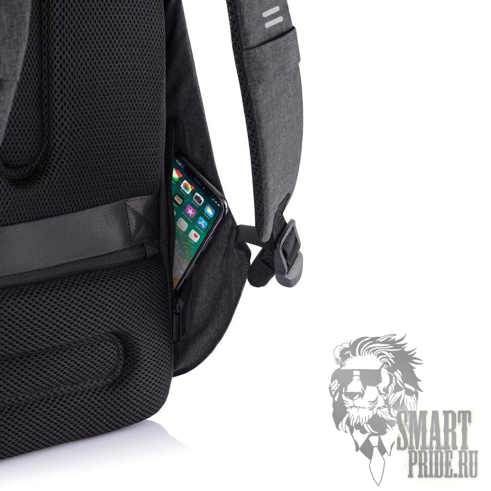 Bobby Hero XL backpack XD Design Black (Рюкзак Бобби Хиро XL черный P705.711)